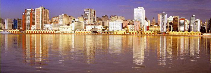 Cais da Mauá em Porto Alegre uma vista perfeita para quem busca imóveis em Porto Alegre